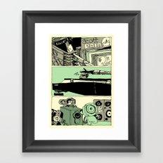 from Dwayne's Super... Framed Art Print