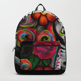 Sugar Skull Candy Backpack