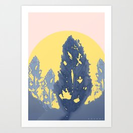The Forest of Feathers Art Print