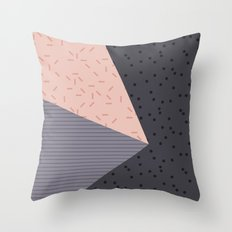Geometry Blocks 8 Throw Pillow