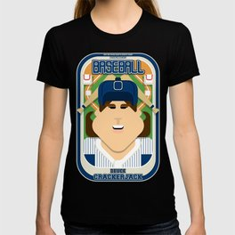 Baseball Blue Pinstripes - Deuce Crackerjack - June version T-shirt