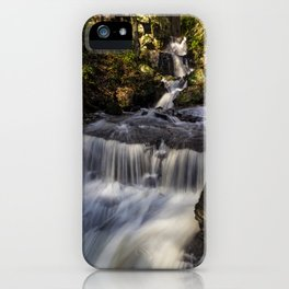 Cascades at Lumsdale Falls iPhone Case