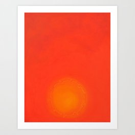 As Shams (The Sun) Art Print