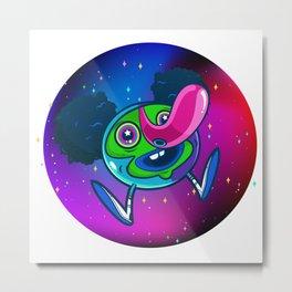 Space Ball Metal Print