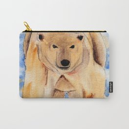 ours blanc Carry-All Pouch