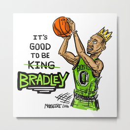 Avery Bradley Boston Game Winner! Metal Print