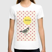 hello beautiful T-shirts featuring Hello by Sreetama Ray