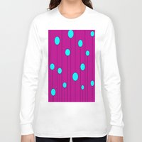 balloons Long Sleeve T-shirts featuring Balloons  by JuniqueStudio