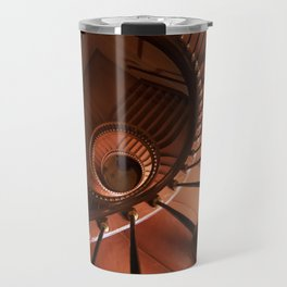 Spiral staircase in browns Travel Mug
