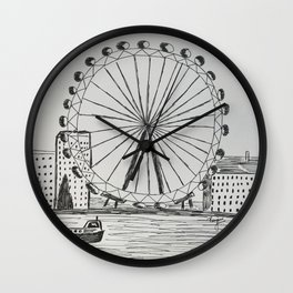 London Eye Wall Clock