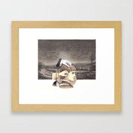 implant Framed Art Print