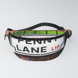 liverpool England famous penny Lane sign Fanny Pack