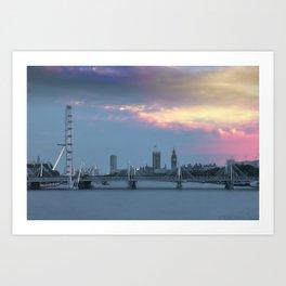 London Life Art Print