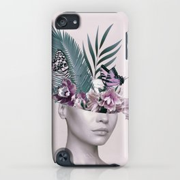 Tropical Girl 3 iPhone Case