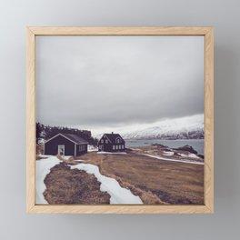 Iceland Framed Mini Art Print