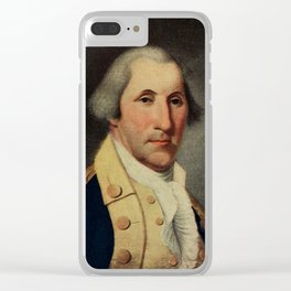Peale, Charles Willson (1741-1827) - Scribner's 48 1910 - George Washington Clear iPhone Case
