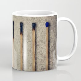 burnt matches stairsteps Coffee Mug