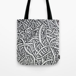 Noodles or Worms Tote Bag