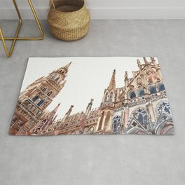 New Town Hall in Munich Rug