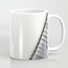 Abstract image composed of two office staples slats Coffee Mug
