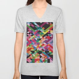 Geometric Kaos Unisex V-Neck