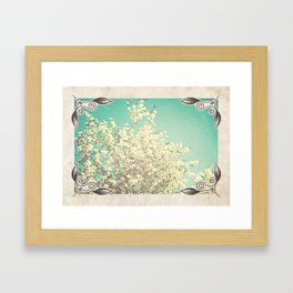 Framed Floral Framed Art Print