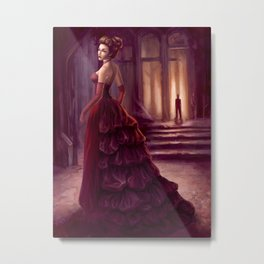 Don't Look Back - fantasy art Metal Print