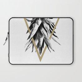 Pineapple Upside Down Geo #1 #tropical #fruit #decor #art #society6 Laptop Sleeve