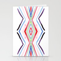 aqua Stationery Cards featuring Aqua by FakeFred