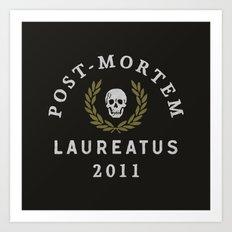 Post-Mortem Laureatus Art Print