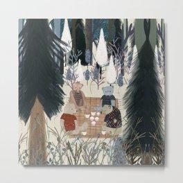 teddy bear picnic Metal Print