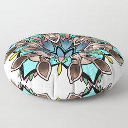 Doe Mandala Floor Pillow