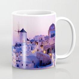 Santorini Night Coffee Mug