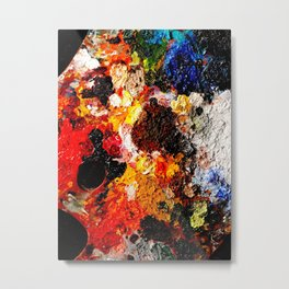 Now that's allot of paint! Metal Print