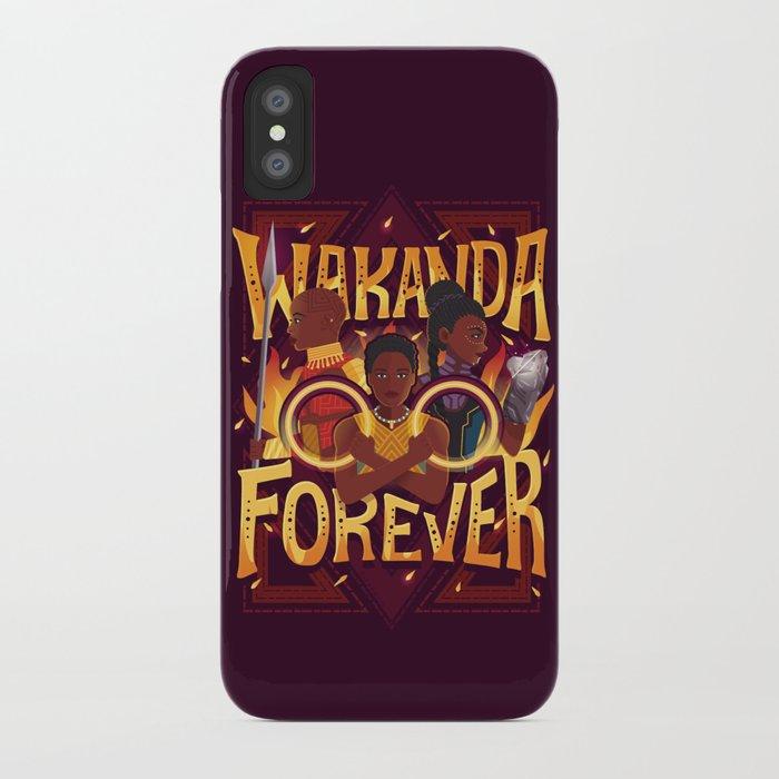 online retailer 00dbf c3963 Women of Wakanda iPhone Case
