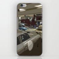 porsche iPhone & iPod Skins featuring Porsche Garage by Premium
