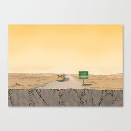 Now Leaving Sunnydale Canvas Print