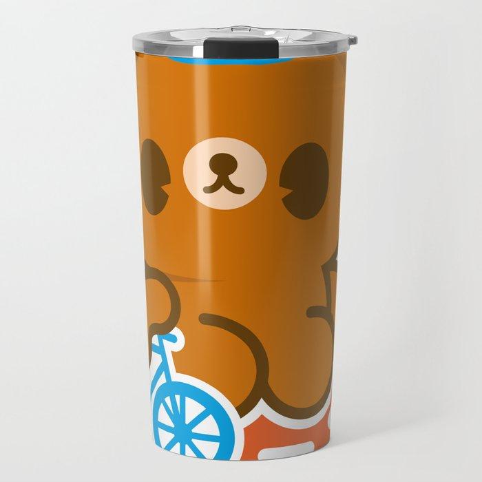 CycleBear - champignon du monde Travel Mug