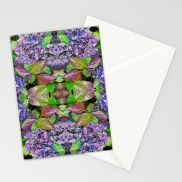 AUTUMN HYDRANGEA MANDALA Stationery Cards