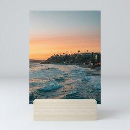 San Clemente Sunset 02 Mini Art Print