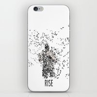 bane iPhone & iPod Skins featuring Bane by justjeff
