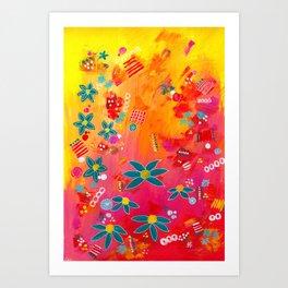 Yellow Delight Art Print