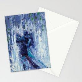 Blue Dancers Stationery Cards
