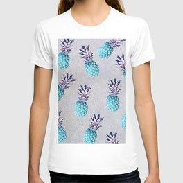 Pine-apple Bleu T-shirt