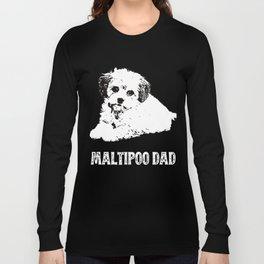 Maltipoo Dad Long Sleeve T-shirt