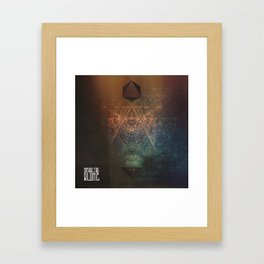ALONE EP COVER Framed Art Print