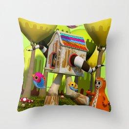 The Fugitive Throw Pillow