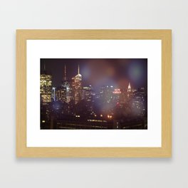 Enchanted City Framed Art Print