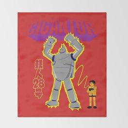 Gigantor Throw Blanket