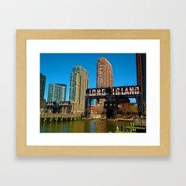Long Island Bound Framed Art Print